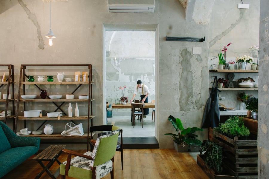 Mek lampade per concept restaurant