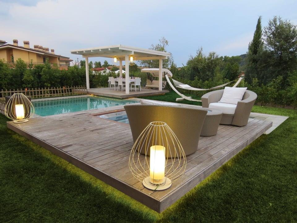 Cell designer outdoor lighting