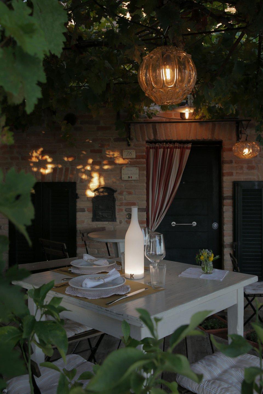 Bacco e Ginger come illuminare veranda