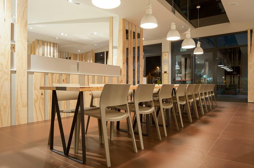 Via Rizzo 7 illuminazione contract ristoranti