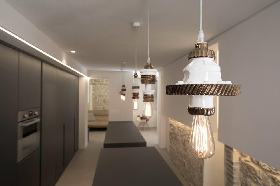 mek Industrial style suspension lamps