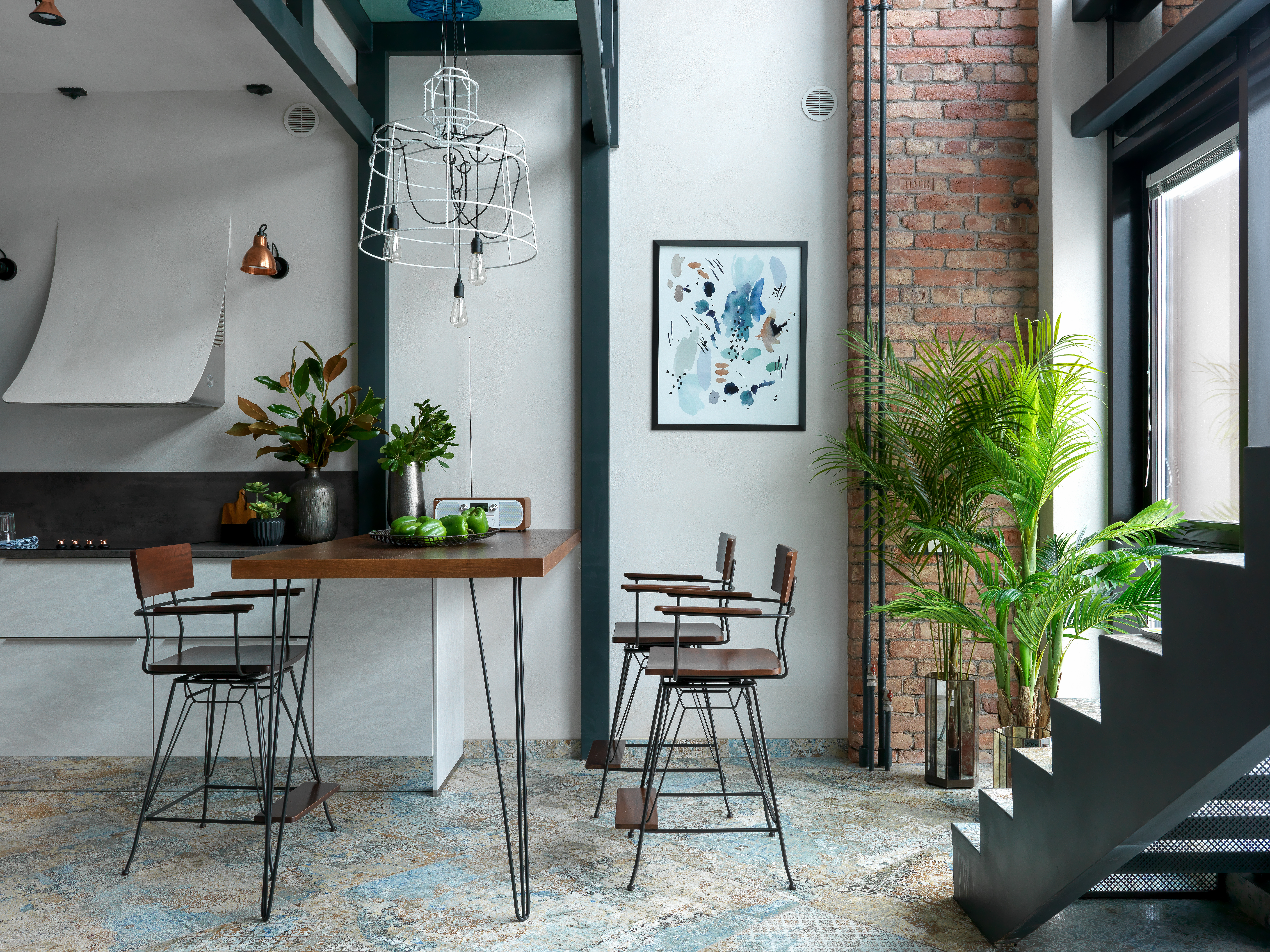 sisma 2 Industrial style suspension lamps