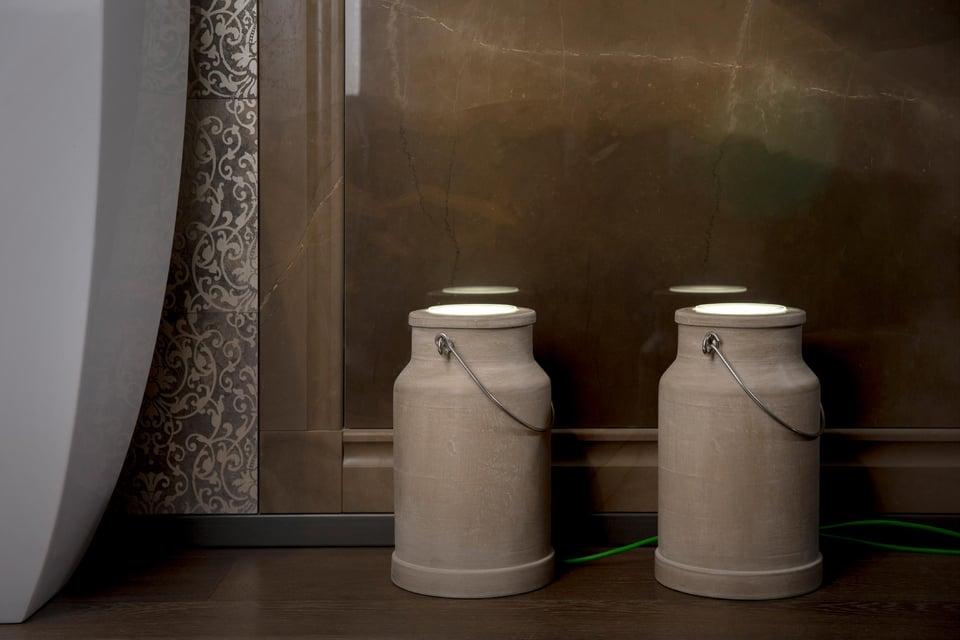 Via lattea illuminazione bagno