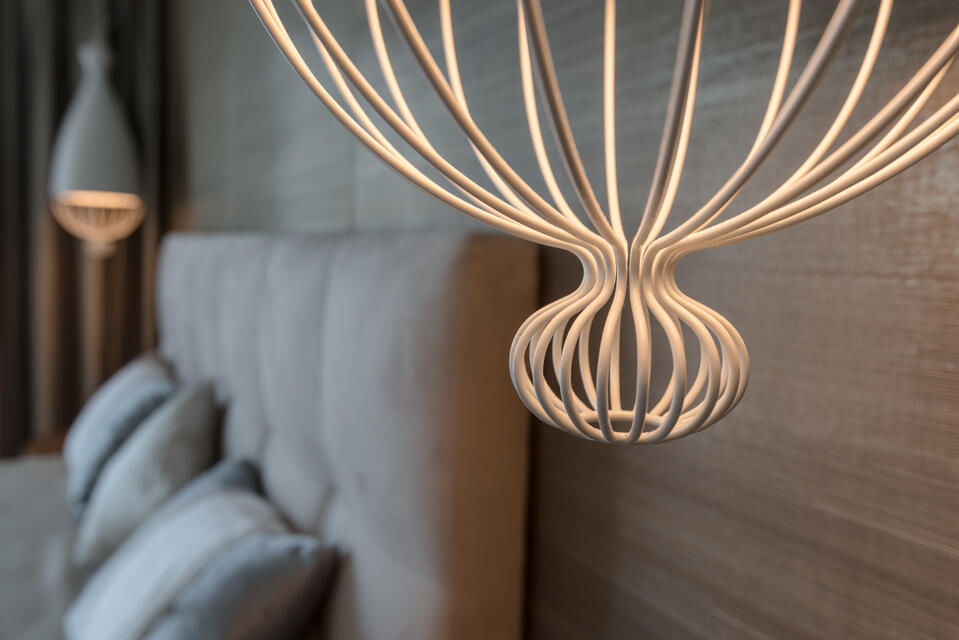 LE TRULLE (2) Decorative lighting for hotel rooms
