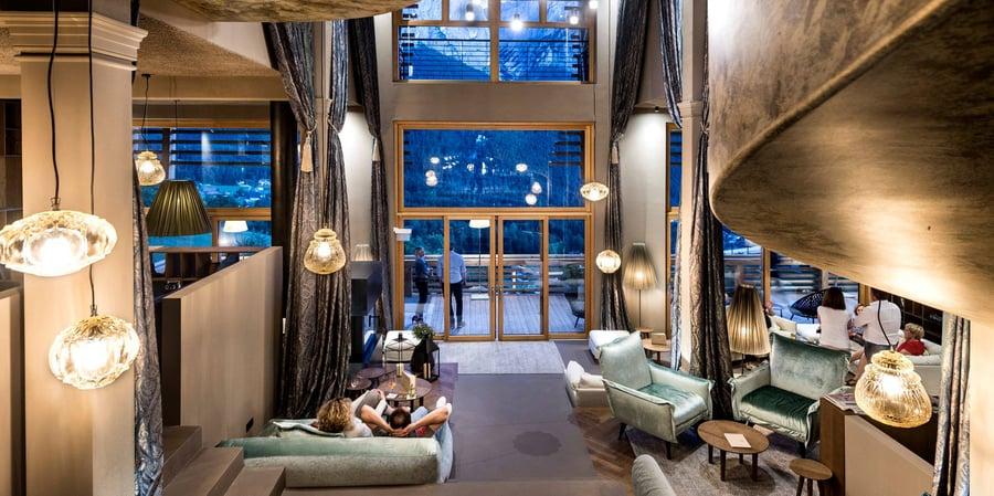 GINGER Illuminazione decorativa per hotel