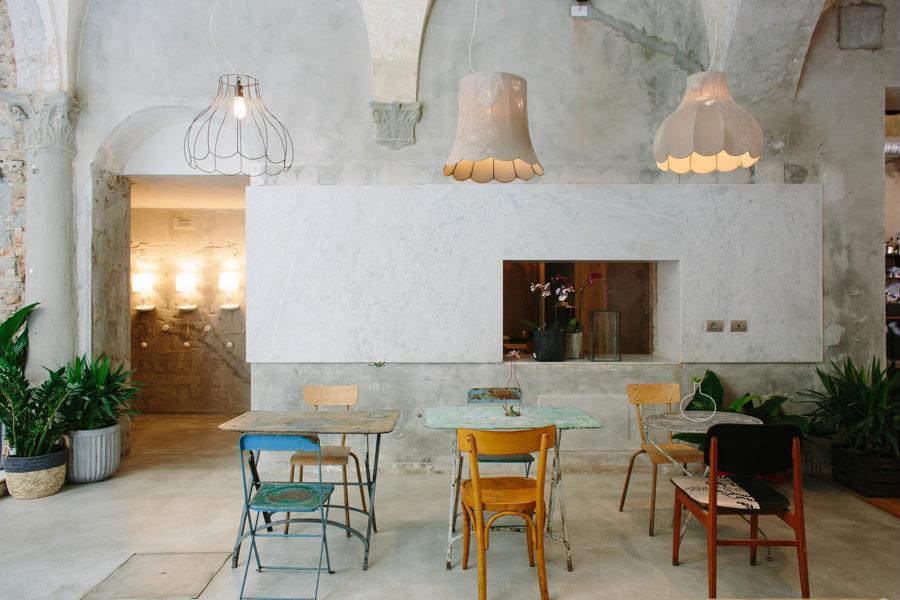 Lucilla e Life illuminazione contract ristoranti