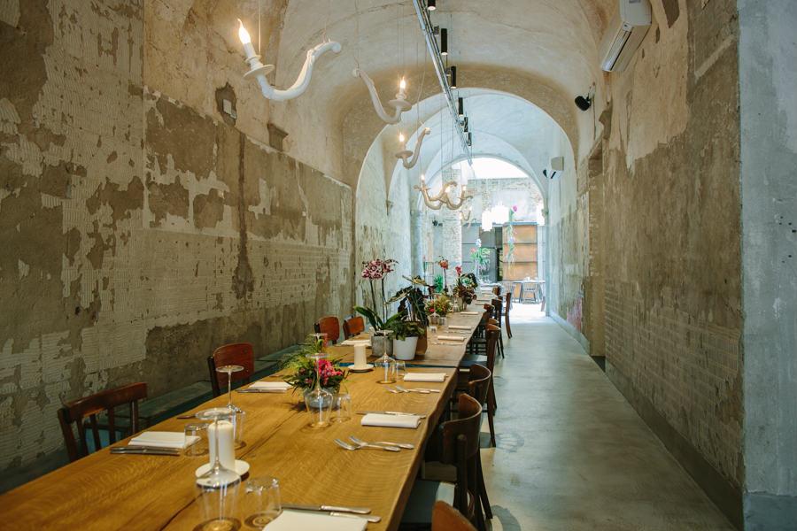 Déjà-Vu Nu illuminazione contract ristoranti