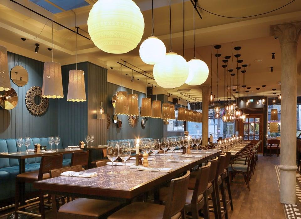 LIFE E BRAILLE illuminazione per ristoranti