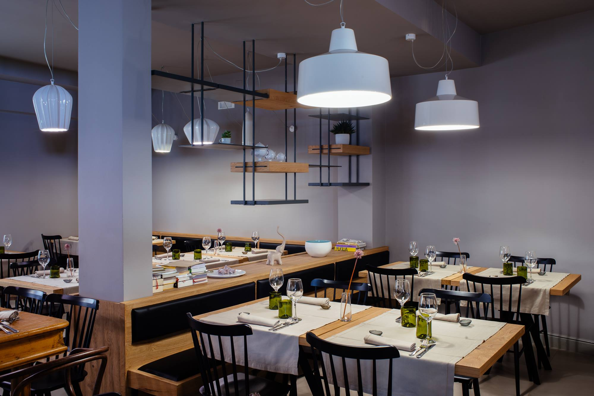 GANGSTER E SAHARA illuminazione per ristoranti