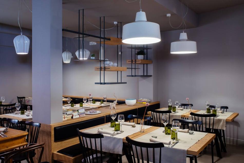 GANGSTER E SAHARA Illuminazione decorativa per ristoranti