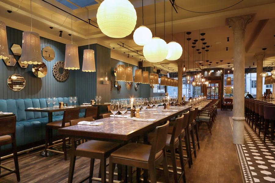 LIFE E BRAILLE decorative lighting for restaurant