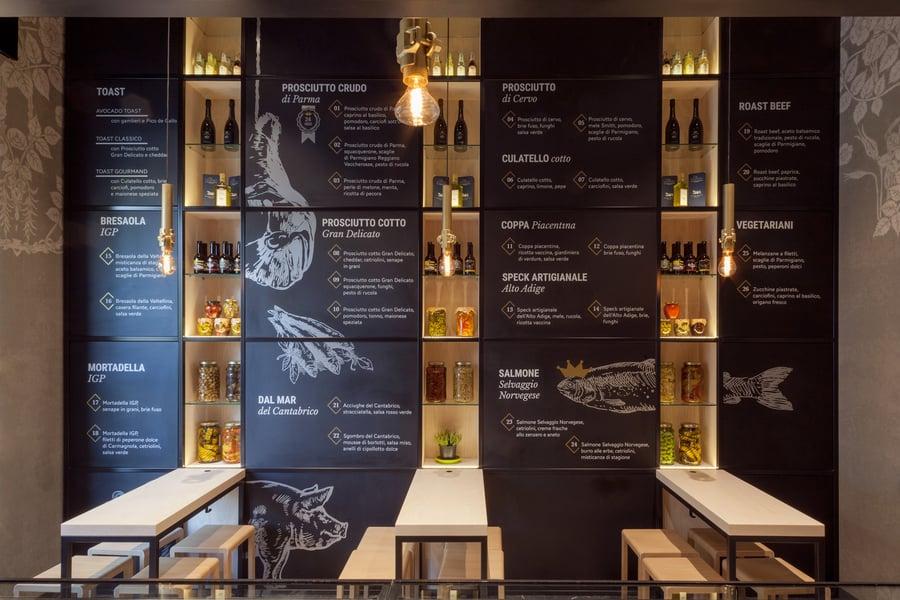 NANDO decorative lighting for restaurant