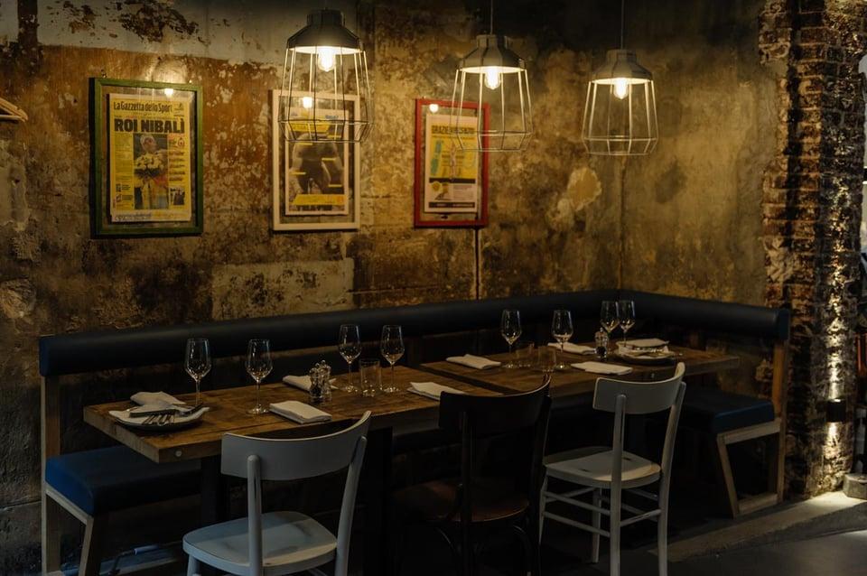 Biancaluce contract lighting restaurants