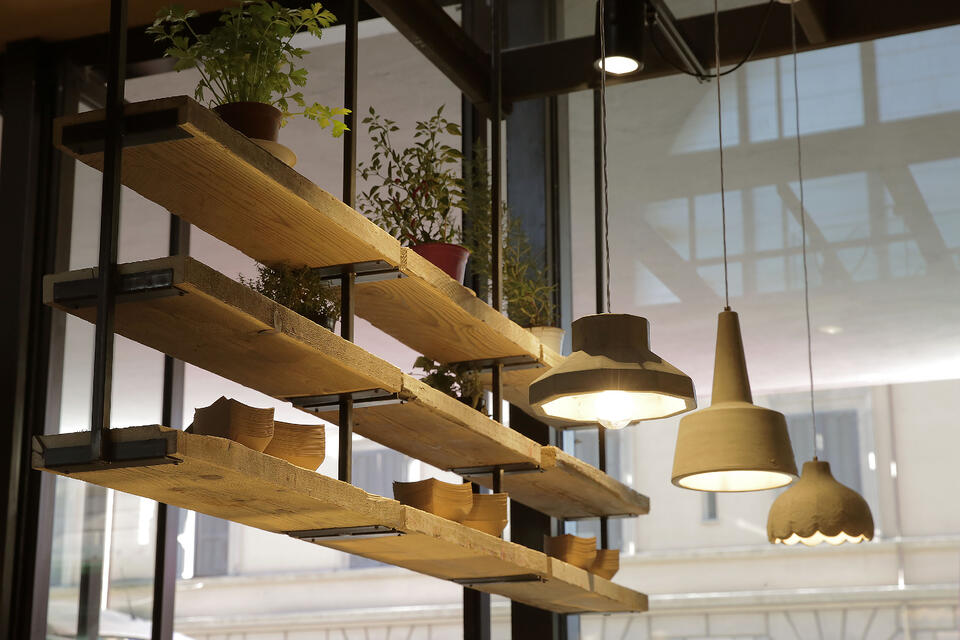 Settenani contract lighting restaurants