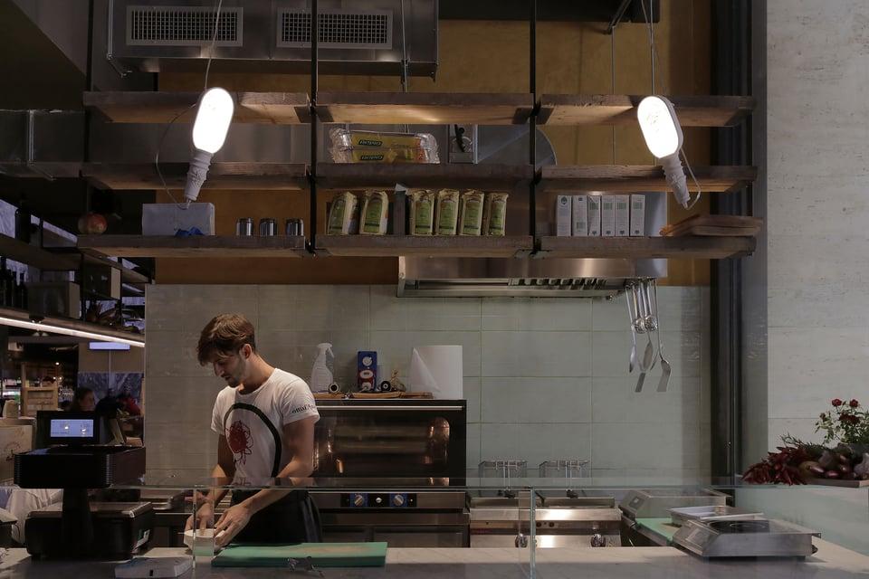 Work In Progress illuminazione contract ristoranti
