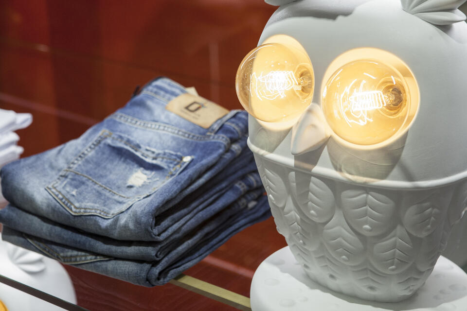 Ti Vedo How to illuminate a store