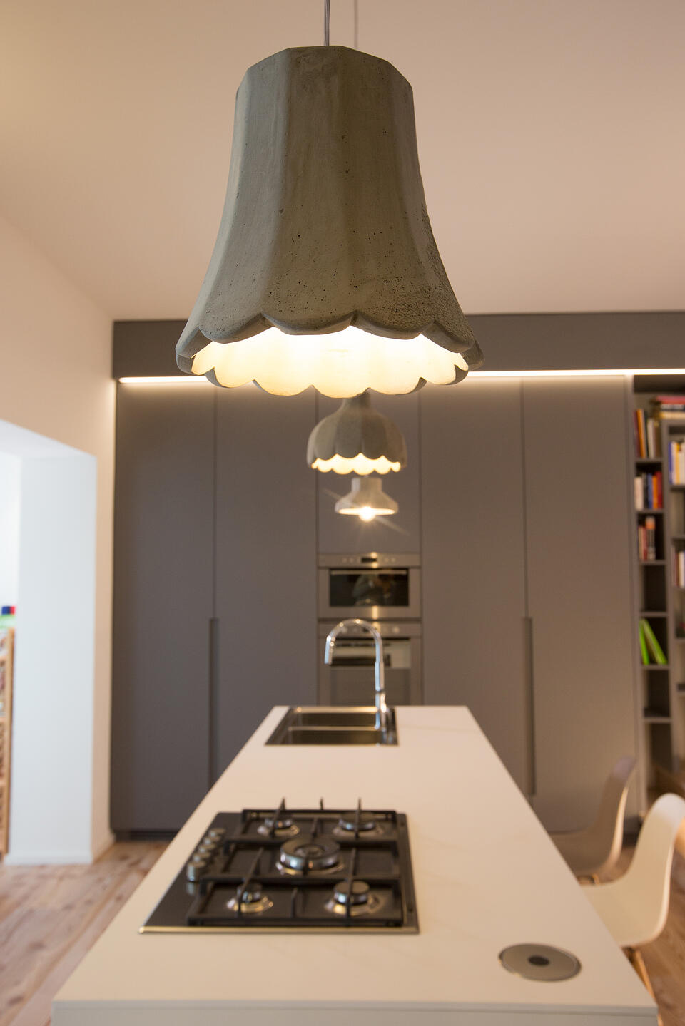 Settenani Collection How to illuminate a kitchen hob