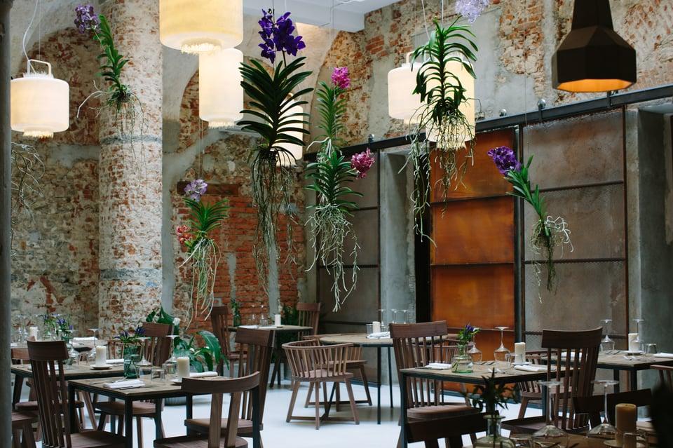 Kimono lampade per concept restaurant