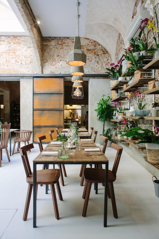 Settenani lampade per concept restaurant