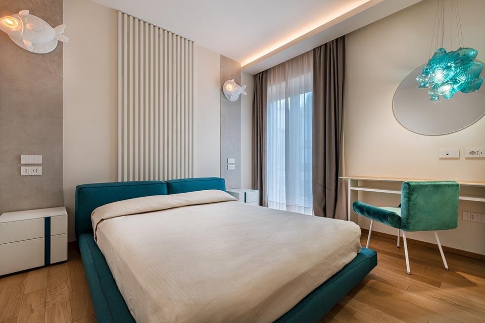 Aprile Ceraunavolta hotel room