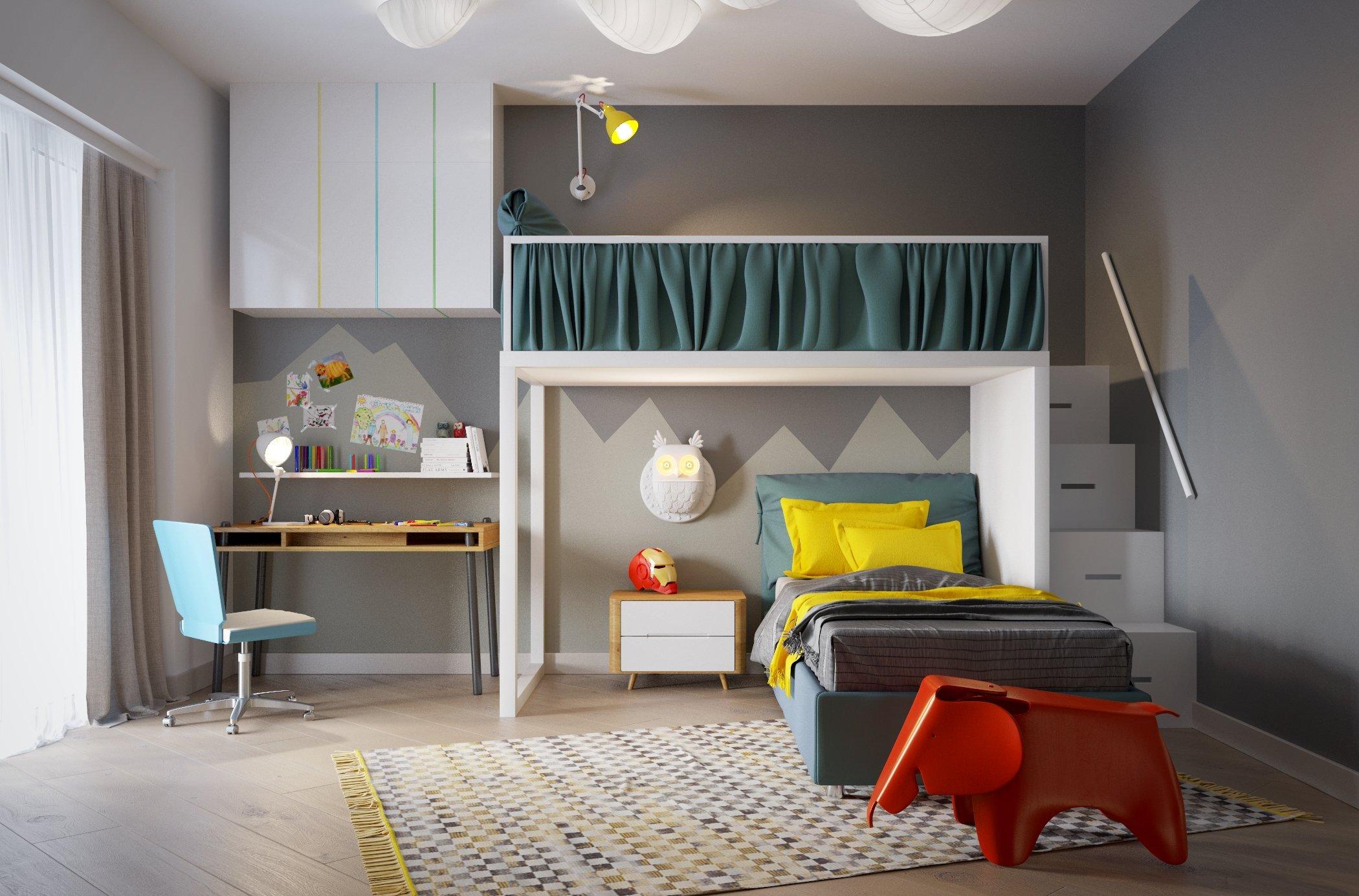 tivedo Lamps for children's bedrooms