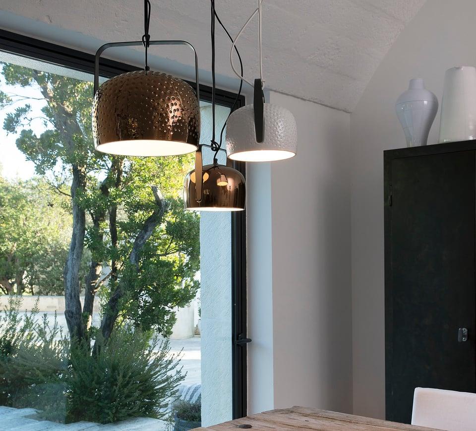 BAG sospensione5 lampade moderne di design