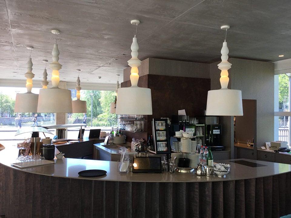 Alì e Babà 5 lampadari a sospensione di grandi dimensioni by Karman