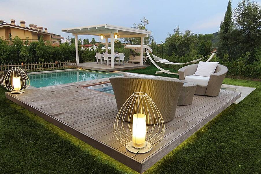 Best material for outdoor lamps Cell