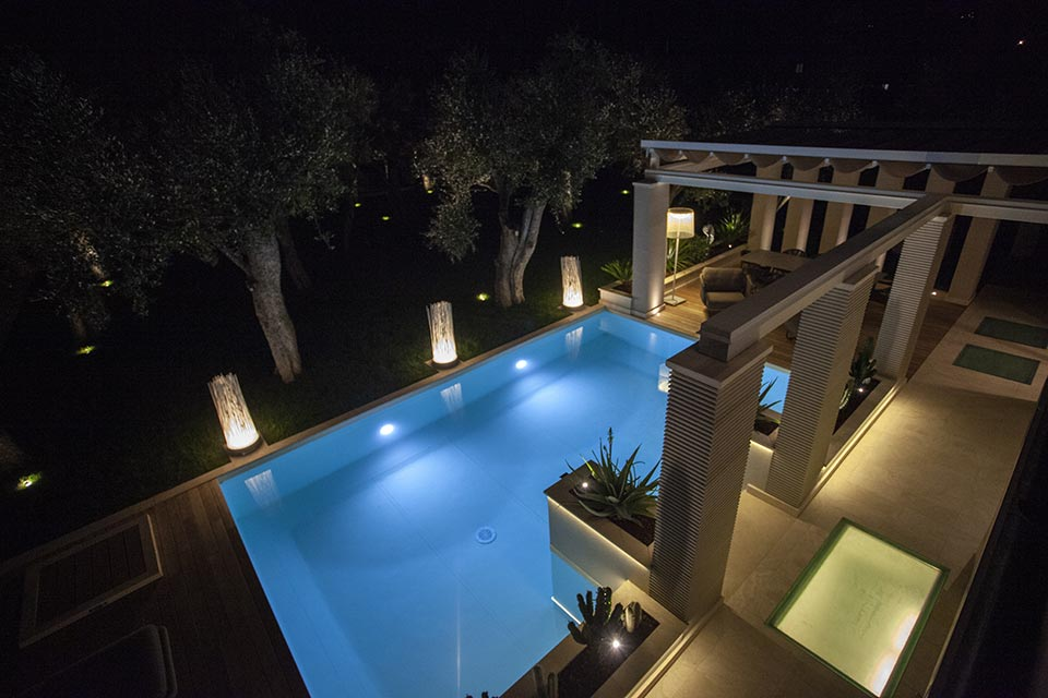 Lighting for villas: this is the Villa Simona project