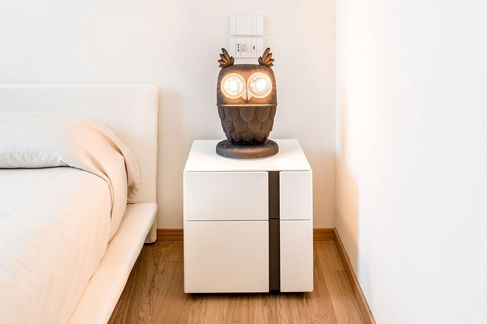 customized lamp ti vedo bedroom