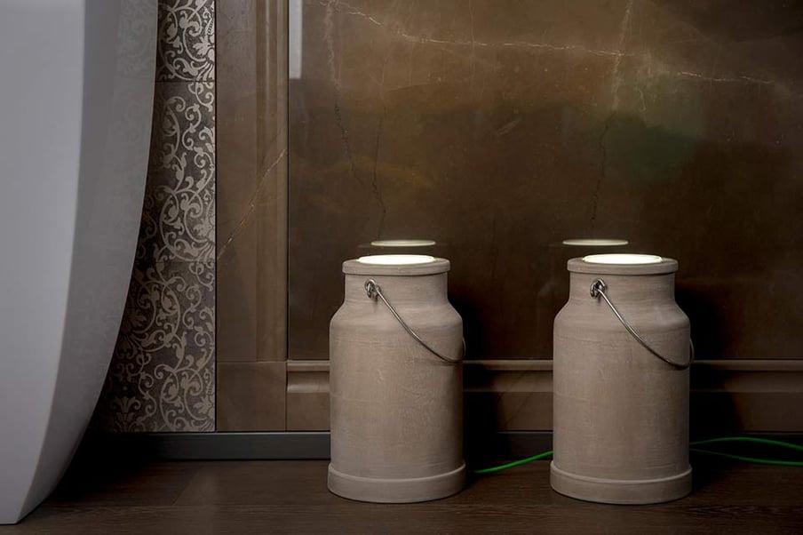 Quali sono le migliori tipologie di lampade per il bagno? Via Lattea