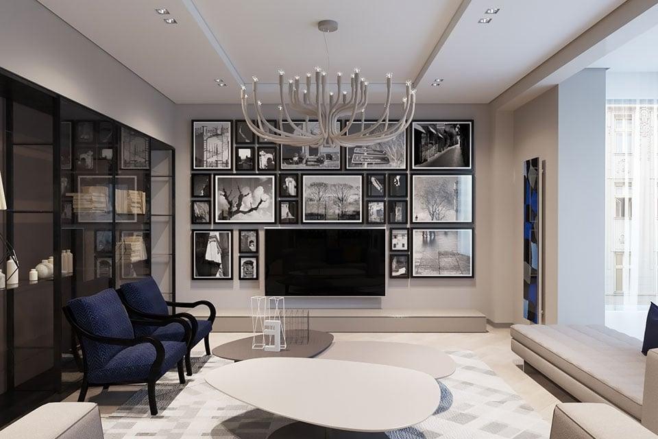 Progetto d'illuminazione per un soggiorno moderno: cosa non può mancare Snoob