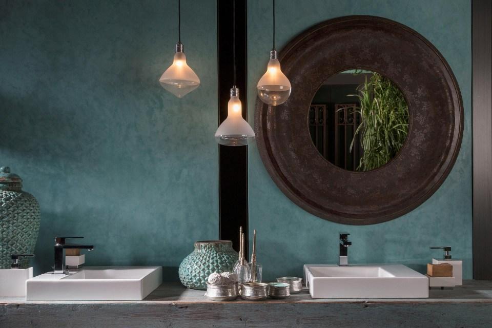 Illuminare il bagno con Make Up by Karman