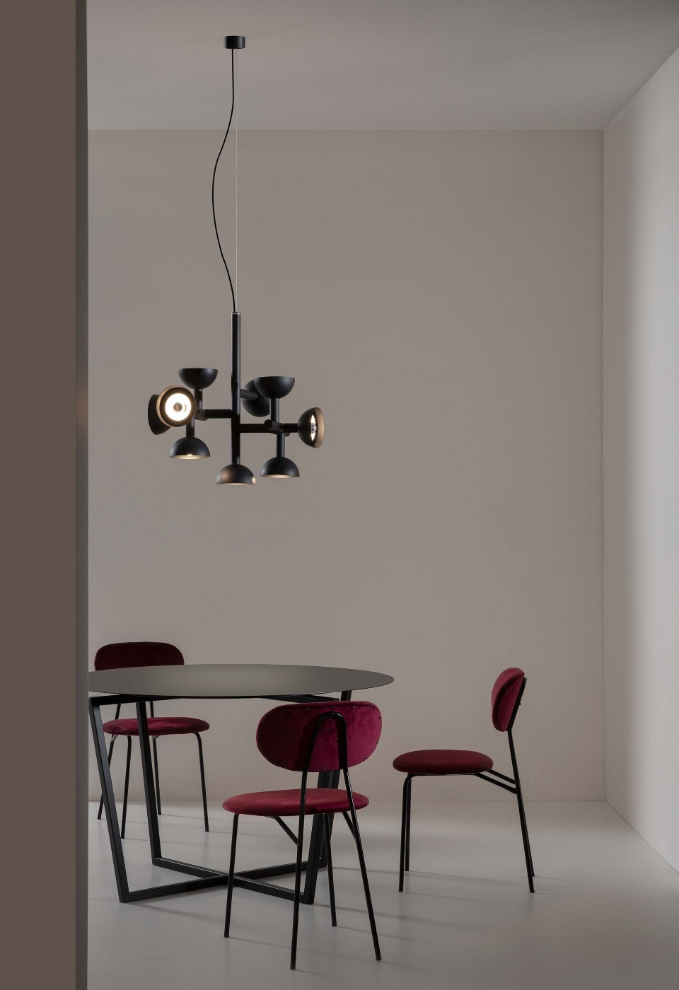 Sibilla per l'illuminazione decorativa dello studio