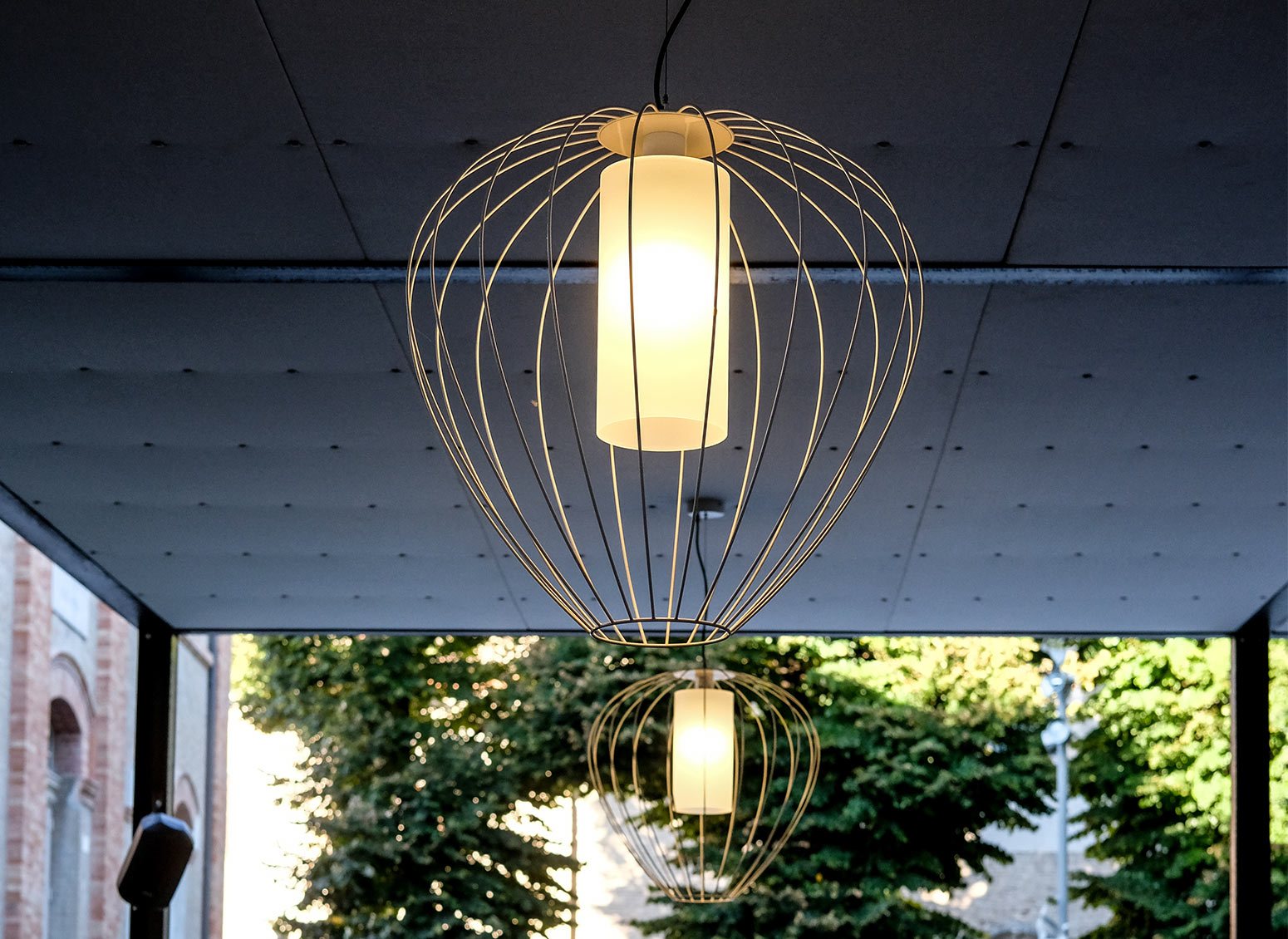 Designer outdoor lighting: all the best solutions for 2019
