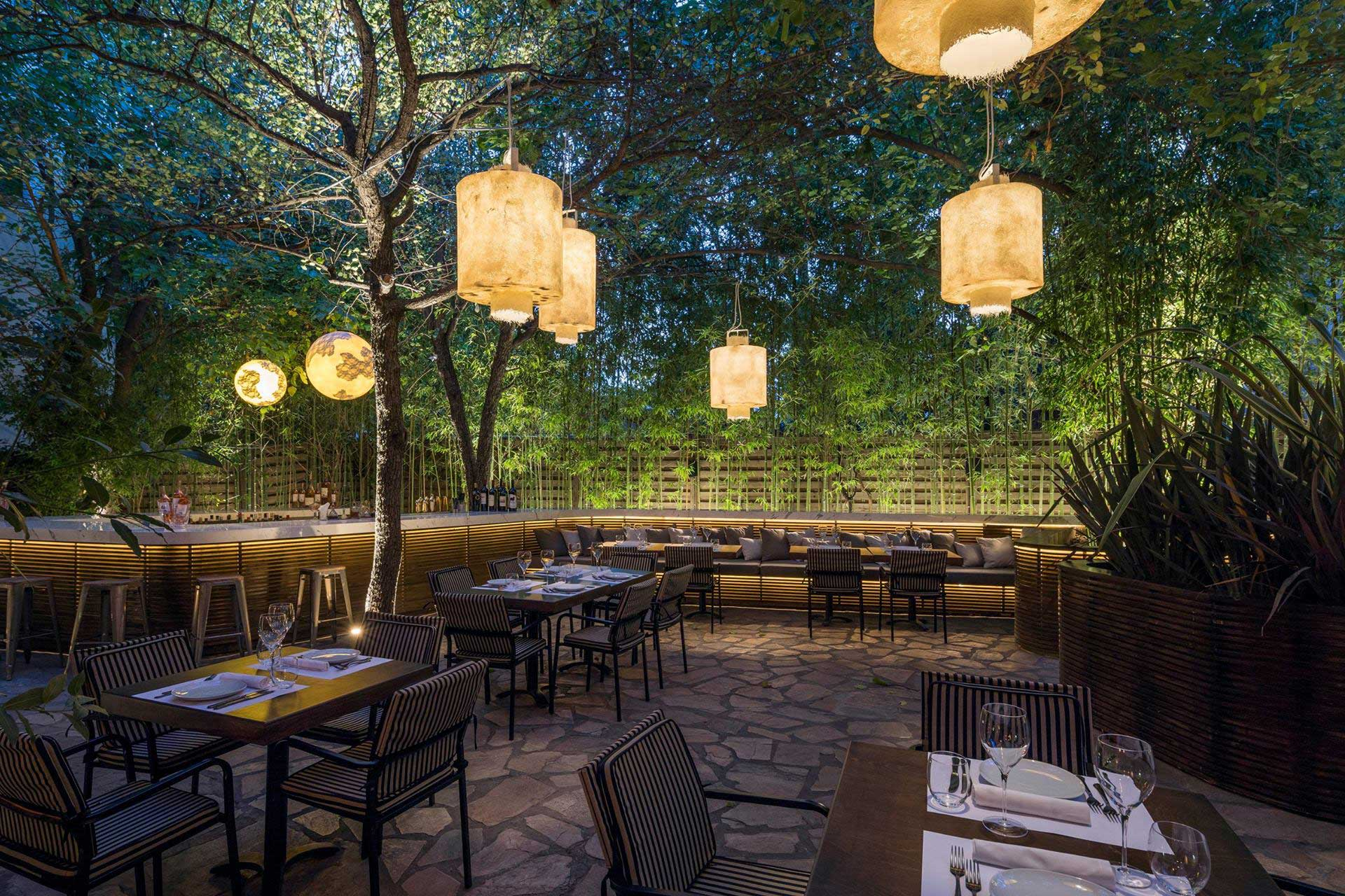 Illuminating a restaurant table: different types of lamps and performances